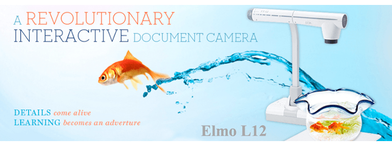 ELMO L-12 Interactive Document Camera