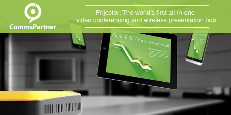 Prijector wireless presentation hub