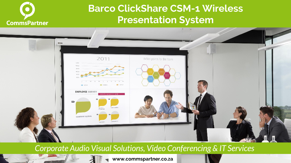 Barco Clickshare CSM-1 Wireless Presentation System