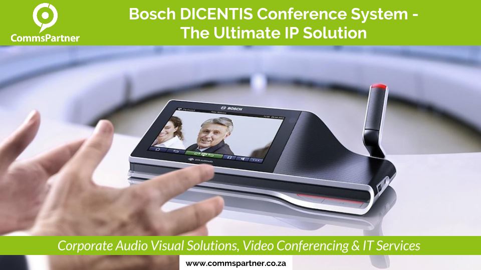 Bosch DICENTIS Conference System