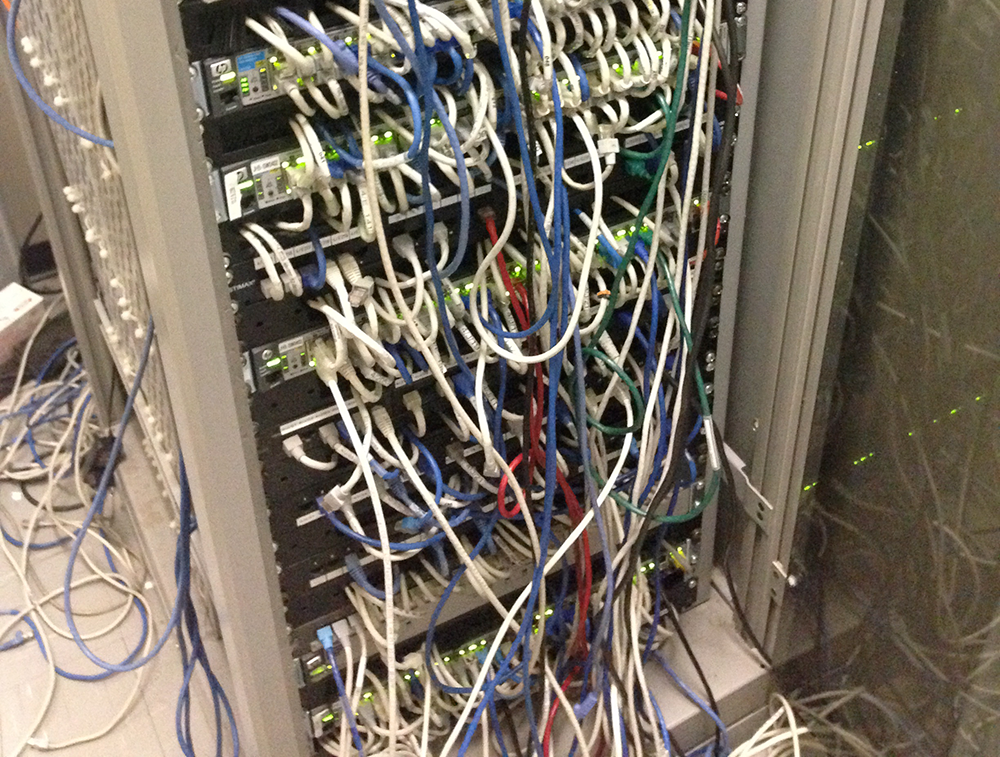 Structured Cabling - Done The Wrong Way