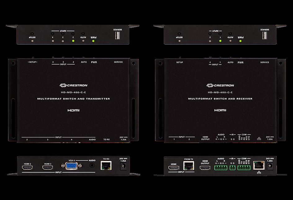 Crestron HD-MD-400-C-E HDMI Switch Box