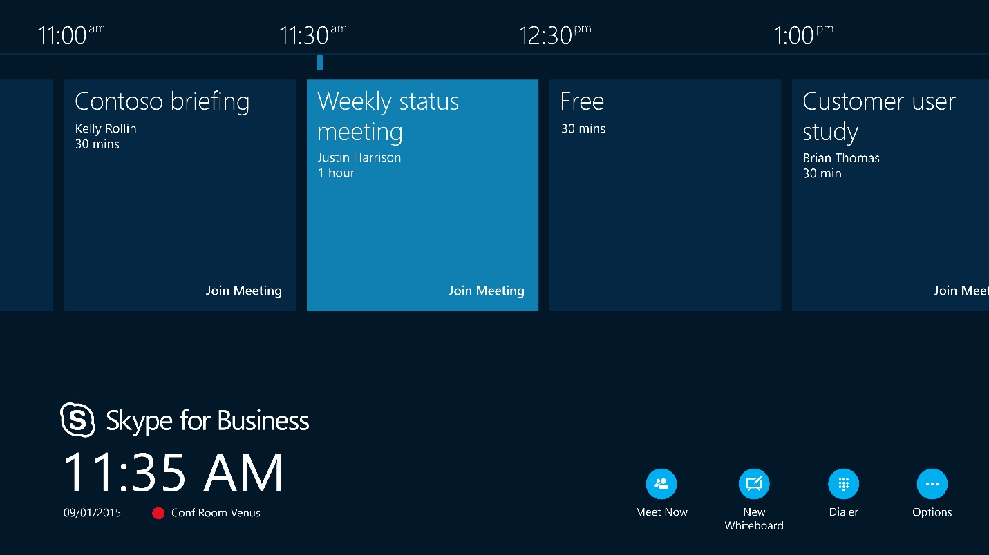 Crestron's Skype for Business Interface