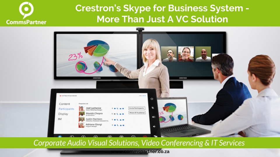 Crestrons Skype for Business System