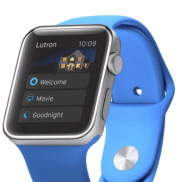 Lutron Control From Apple Watch