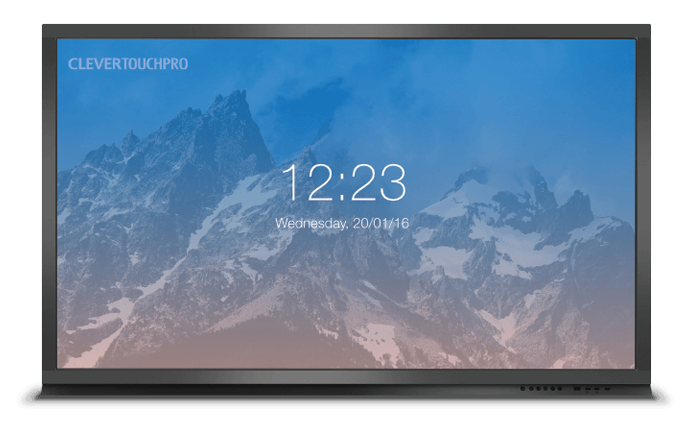 Clevertouch Pro Series - IR Touch