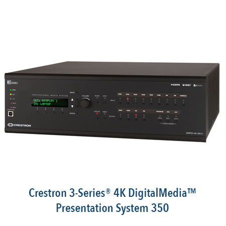 Crestron 3-Series 4K DigitalMedia Presentation System 350