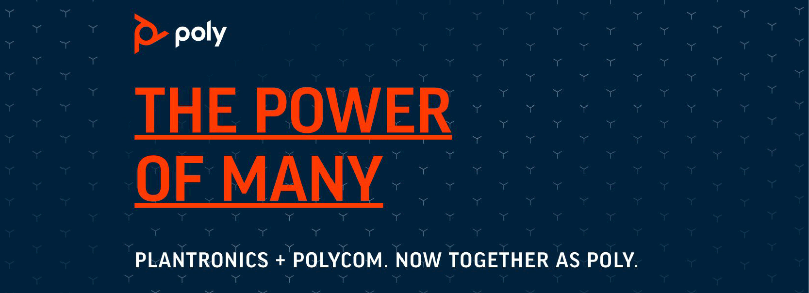 Polycom and Plantronics
