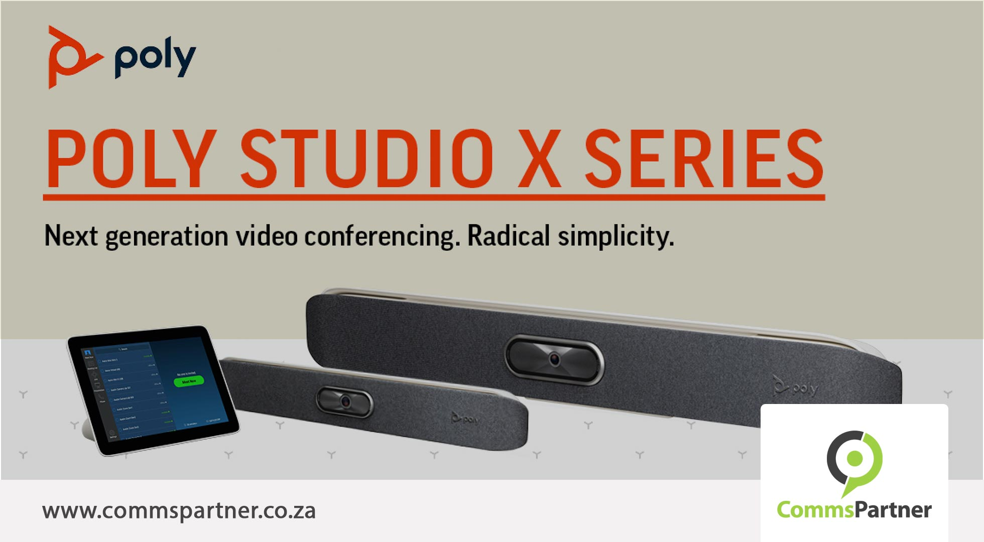 Poly Studio X Series