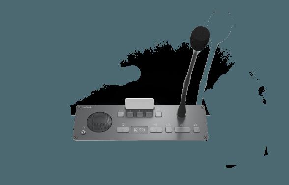 Televic Conference Flushnount Units