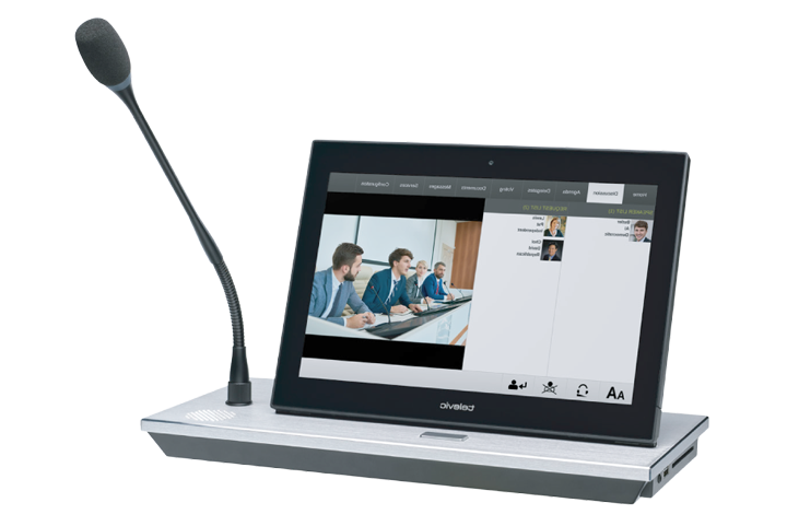 "Televic uniCOS 10"" Tabletop Unit"